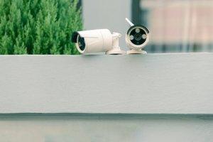 Kleine Bullet-Überwachungskameras