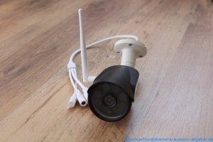 SV3C Test: Die Wlan IP Kamera hat ein fast unschlagbares Preis-Leistungs-Verhältnis. Für Einsteiger ein perfektes Gerät.