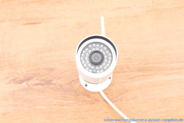 iegeek test frontansicht der kamera berwachungskamera au en. Black Bedroom Furniture Sets. Home Design Ideas